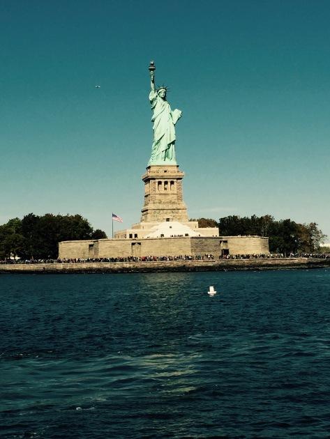 Statue of Liberty @ Ellis Island