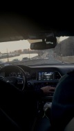 Driving to the city