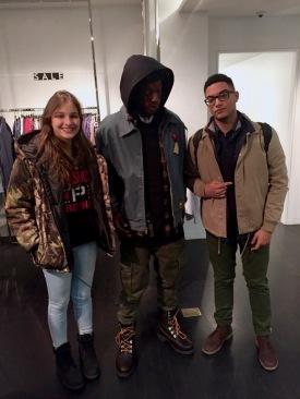 Joey Bada$$ in Upper East Side
